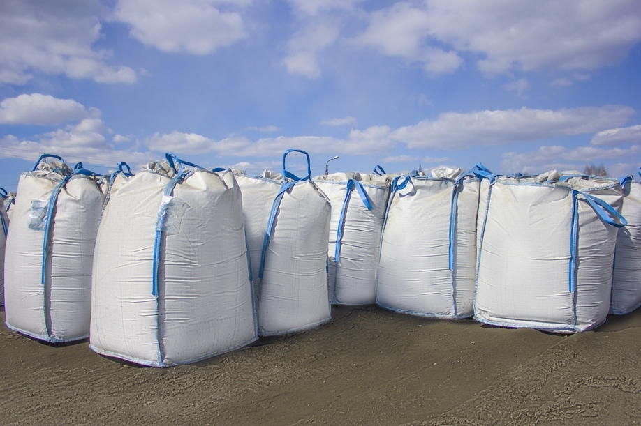 Filled Bulk Tonne Bags